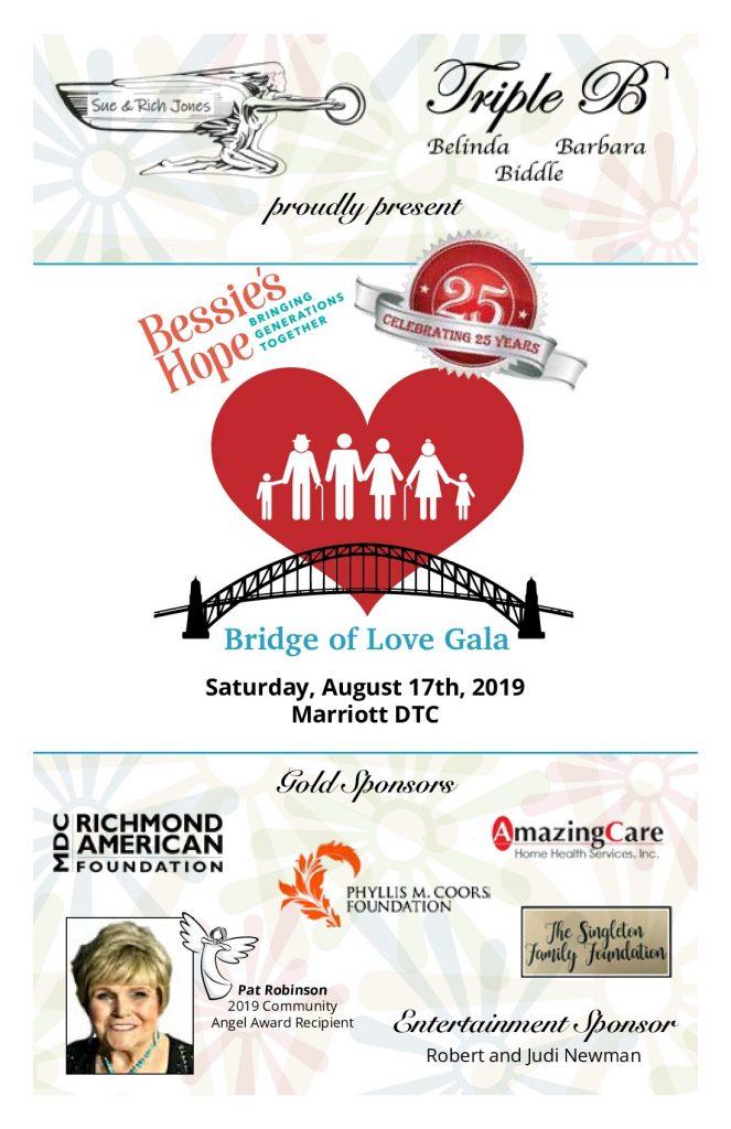 2019 Bridge of Love Gala - Bessie's Hope